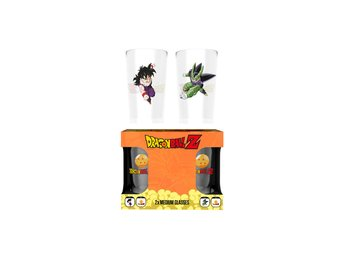 Glas (set med 2) - Dragon Ball Z Gohan Vs Cell