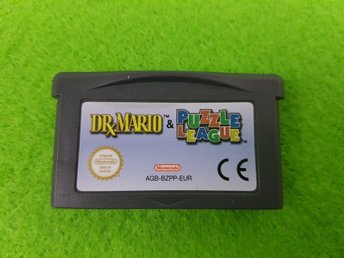 Dr.Mario & Puzzle League Gameboy Advance Nintendo GBA