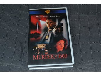 Murder at 1600 - WB 1997 VHS
