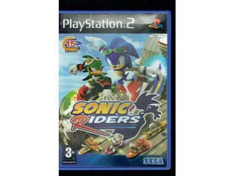 Playstation 2 - Sonic Riders (manual medföljer)