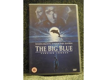 The Big Blue DVD (Version Longue) Rosanna Arquette,Jean-Marc Barr,Jean Reno