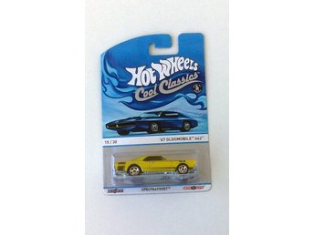 1967 Oldsmobile Cutlass 442 1/64 Hot Wheels limegul