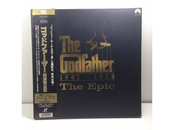 The Godfather The Epic Box Edition m booklet 4 st Laserdisc 4LD B8-25