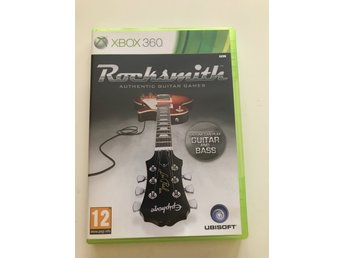 Xbox 360: Rocksmith- Authentic guitar Games