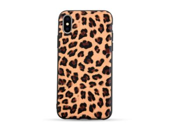 iPhone 7 8 Plus Mobilskal Animal Print Leopard Mönster