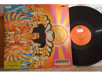 The Jimi Hendrix Experience ‎– Axis: Bold As Love EUROPE UNKNOWN PRESS RARE