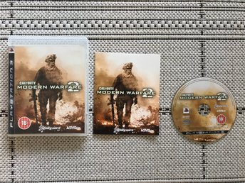 Call Of Duty Modern Warfare 2, COD, till Playstation 3, PS3, komplett