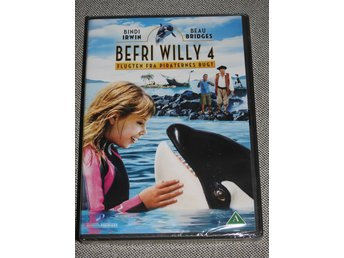 Befri Willy 4 Flugten fra Piraternes Bugt DVD INPLASTAD  - Rädda Willy 4