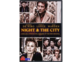Night and the city (1992) Robert De Niro, Jessica Lange.