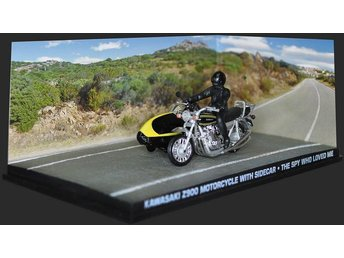 James Bond Collection - 1/43 scale - Kawa Z 900 MC w/sidecar - The spy who....