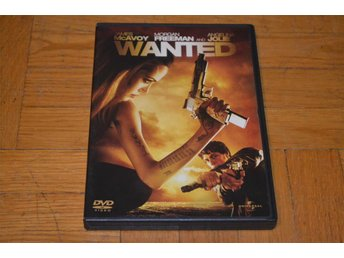 Wanted ( Angelina Jolie Morgan Freeman ) DVD