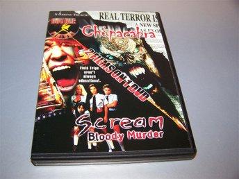 Chupacabra, el & Scream Bloody Murder (2003) / Reg. 1 (US) - NY - skräck, rysare - Gnesta - Chupacabra, el & Scream Bloody Murder (2003) / Reg. 1 (US) - NY - skräck, rysare - Gnesta