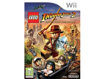 LEGO Indiana Jones 2 The Adventure Continues  - Nintendo Wii