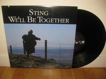 "STING - We'll be together 12"" maxi 1987 / The Police"
