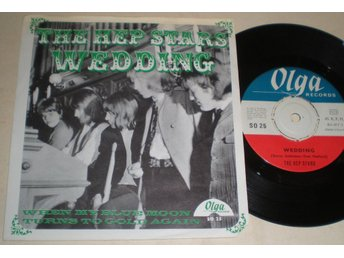 Hep Stars 45/PS Wedding Olga 1966