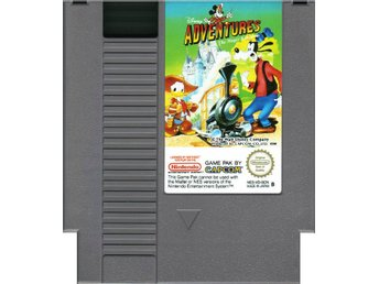 Adventures in The Magic Kingdom - NES - Kassett