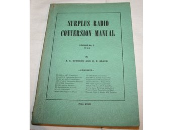 SURPLUS RADIO CONVERSION MANUAL. 1948