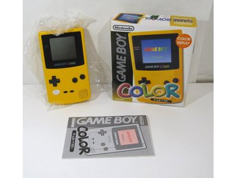 GBC konsol, gul Game Boy Color