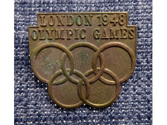 PIN LONDON 1948 OLYMPIC GAMES