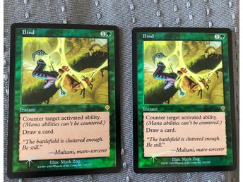 Blind x2 FOIL - Invasion MTG Magic the Gathering