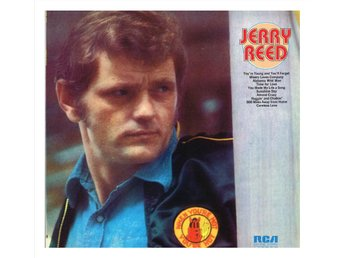 "JERRY REED - Jerry Reed - LP ""cut out"" (1972)"