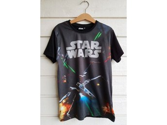 Star Wars kortärmad t-shirt stl 134/140!