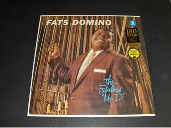 "Fats Domino ""The Fabulous Mr. D"" (Ny, inplastad LP)"