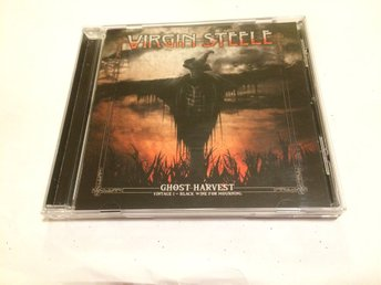 VIRGIN STEELE Ghost Harvest - Vintage I ~ Black Wine For Mourning CD 2018 Import