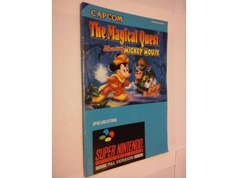 SNES: Manualer: The Magical Quest (Manual - Tysk)