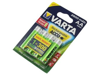 Varta Rechargeable Battery AA HR6 2600mAh 4 Blister ON1325
