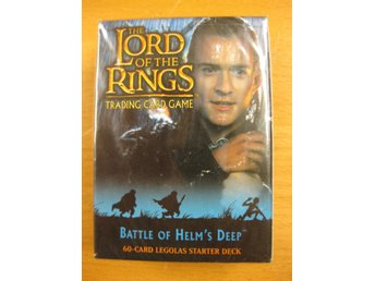 LORD OF THE RINGS - BATTLE OF HELM´S DEEP - 1 ST STARTER DECK  (60 KORT)