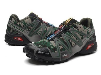 Mens Strl Eu 45 Salomon speedcross3 skor camouflage - Houston - Mens Strl Eu 45 Salomon speedcross3 skor camouflage - Houston