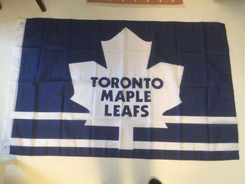 Toronto Maple Leafs flagga Sundin Kanada ishockey hockey NHL