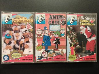 Andy Capp + The Wombles + Father Christmas till Commodore 64 / 128 | C64 | C128