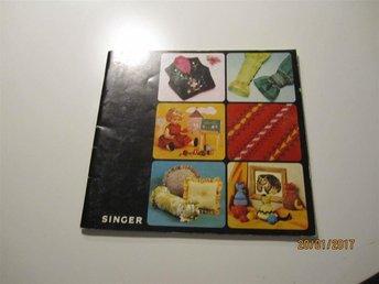 Singer sömnadsbok från 1976 48 sidor - Boden - Singer sömnadsbok från 1976 48 sidor - Boden