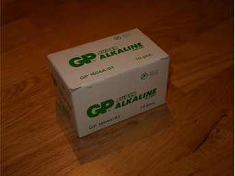 10 x GP Super Alkaline / 9V / GP 1604A-S1