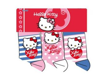 Hello Kitty Strumpor 3-Pack stl 23/26
