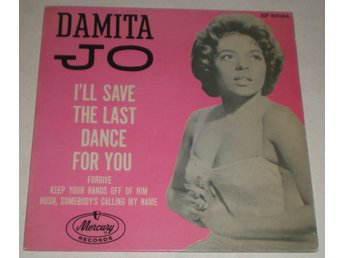 Damita Jo OMSLAG EP I´ll save the last dance for you + 3 1961