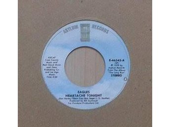 "Eagles title* Heartache Tonight *Pop Rock 7"" US - Hägersten - Eagles title* Heartache Tonight *Pop Rock 7"" US - Hägersten"
