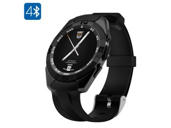 NO.1 G5 Smart Watch - Bluetooth 4.0, Smartphone Sync, Heart Rate Sensor, Pedomet
