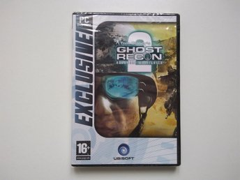 Tom Clancy's Ghost Recon Advanced Warfighter. Helt ny, öoppnad, PC spel.