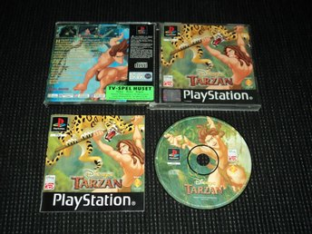 PS1 Disney Tarzan