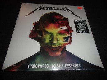 Metallica - Hardwired...to self-destruct- 2xLP - 2016 - Ny
