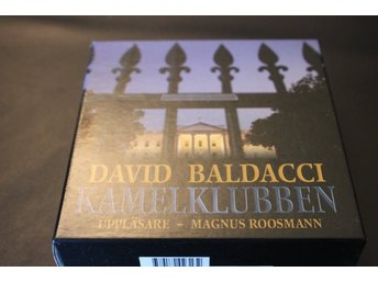 CD-bok: Kamelklubben - David Baldacci