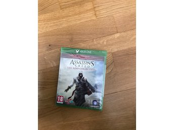 Assassins creed the Ezio collection.  Nytt.  Xbox one