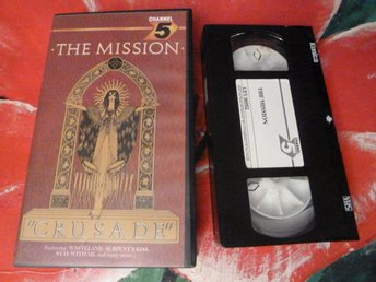 "THE MISSION, ""CRUSADE"", FILM, VHS, 60 MIN."
