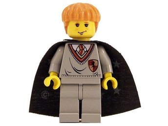 Lego - Harry Potter  - Figurer - Ron grå klassisk