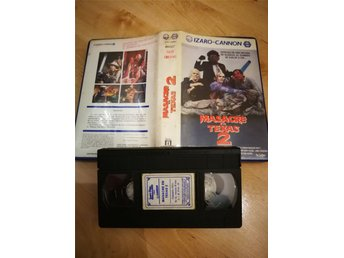 TEXAS CHAINSAW MASSACRE VHS (Spanien)