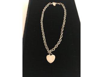 Nytt Scoop silver 925 halsband med hjärta (340902083) ᐈ Köp på Tradera 12b7914e947b9