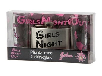 Plunta med 2 Shotglas - Girls Night